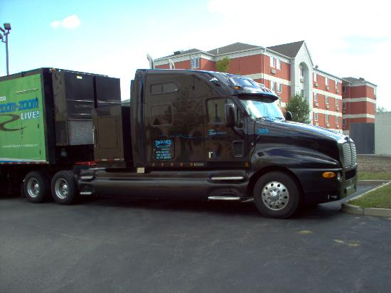 Hampton Inn Boston Braintree: The Big Truck