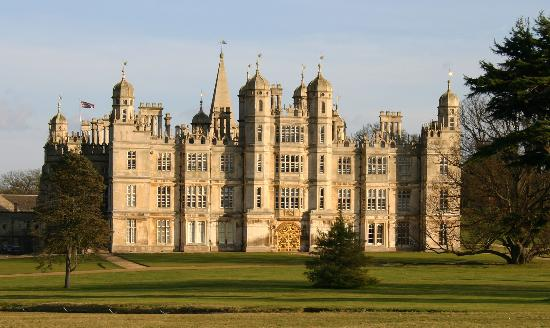 Stamford, UK : Burghley from park