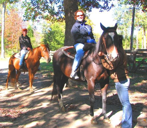 Piney Hill Bed & Breakfast: Horseback riding