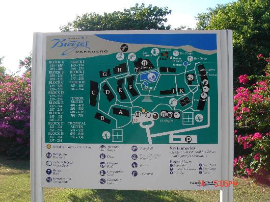 Resort Map Picture Of Hotel Los Cactus Varadero