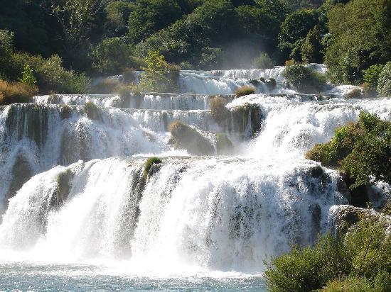 Krka National Park, Croatia: Lower falls