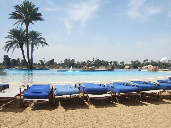 Jolie Ville Hotel & Spa - Kings Island, Luxor: Infinity Pool