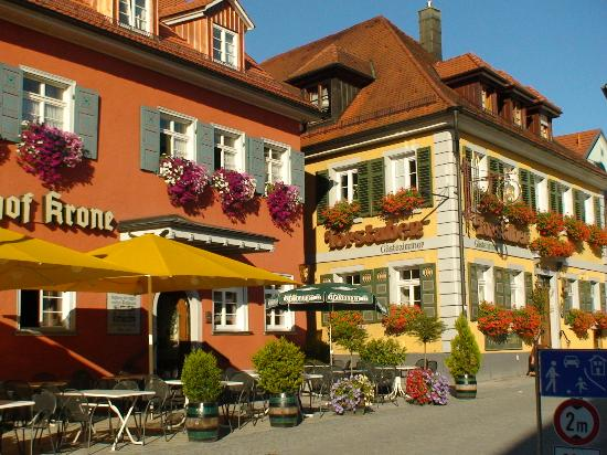 Baden-Wurttemberg, Germany: Beautiful town buildings