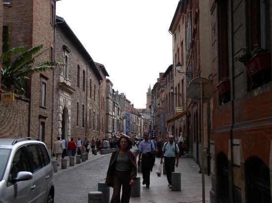Hotel du Taur: Rue du Taur