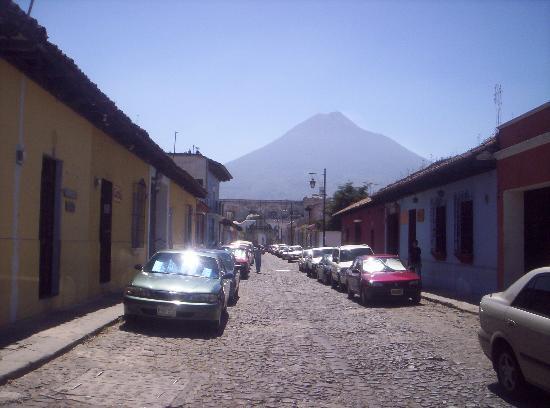 Posada La Merced Antigua: Water Volcano view!!!