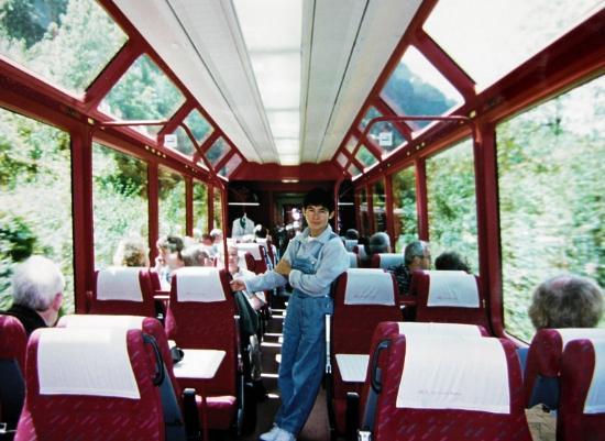 Alpy Szwajcarskie, Szwajcaria: Glacier Express Views