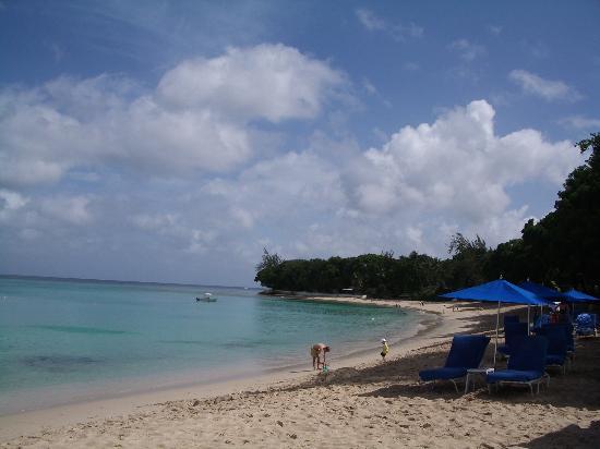 Sandy Lane Hotel: The lovely beach