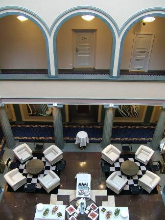Elite Plaza Hotel Göteborg: Interior cour yard