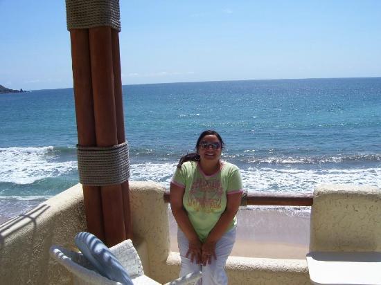 Playa Maria Beach Club: View from our condo balcony