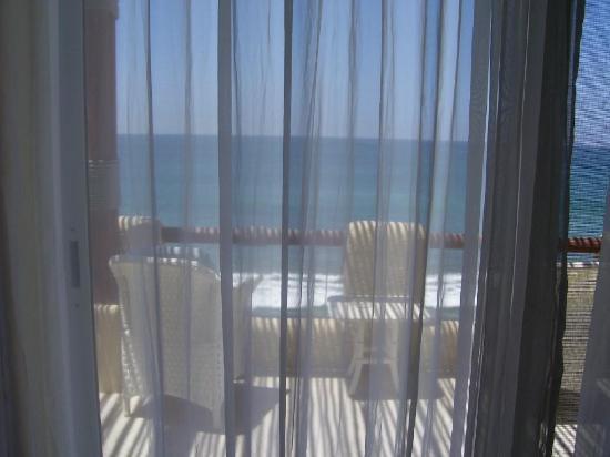 Playa Maria Beach Club: Our balcony again,  PARADISE!
