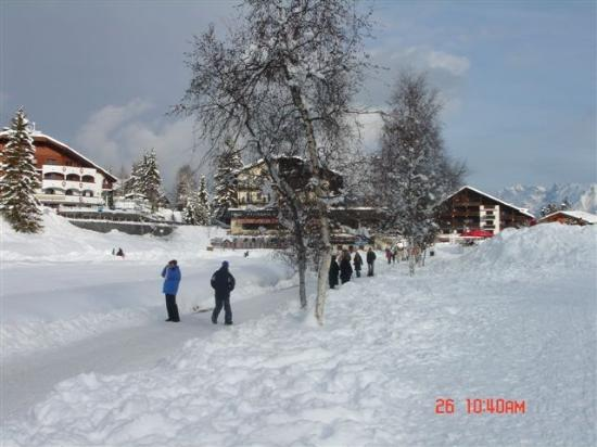 Hotel Haymon : Seefeld Walk