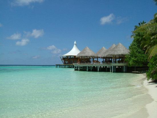 باروس جزر المالديف: Cayenne Grill and Lighthouse