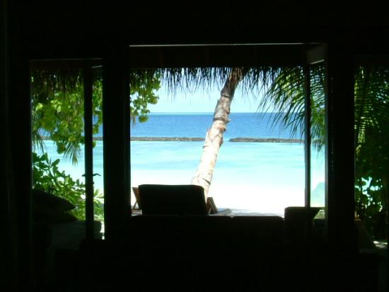 Baros Maldives : View from the room