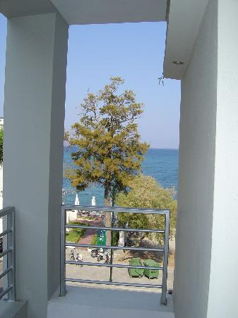 Triton Hotel: view from balcony