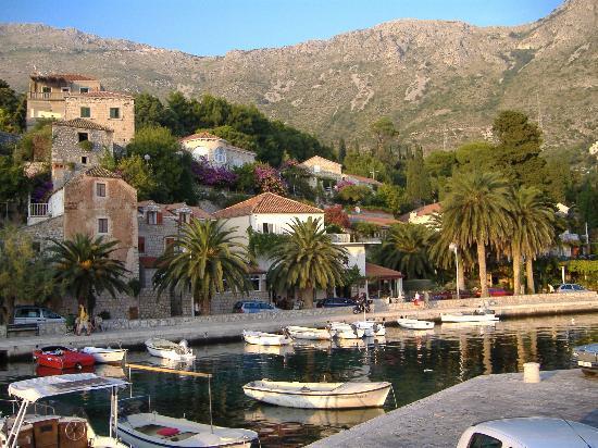 Mlini harbour