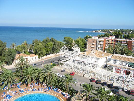 Port Denia: Hotel from balcony
