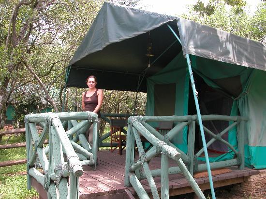 Fairmont Mara Safari Club: The Tent