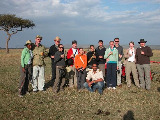 Fairmont Mara Safari Club: Champagne Breakfast