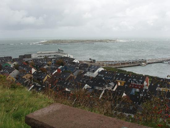 Hotel Atoll Helgoland: View from upper island part