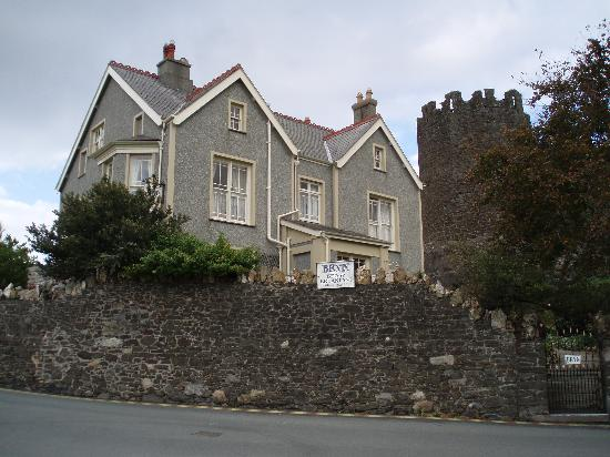 Bryn Guest House: The Bryn with fairy tale tower looming