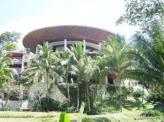 Four Seasons Resort Bali at Sayan: the main hotel building