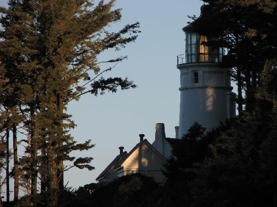 Heceta Head Lighthouse Bed and Breakfast: The light