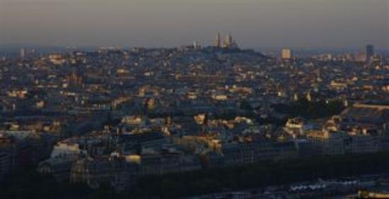 Four Seasons Hotel George V Paris: Sacre Cour seen from the Eiffel tower