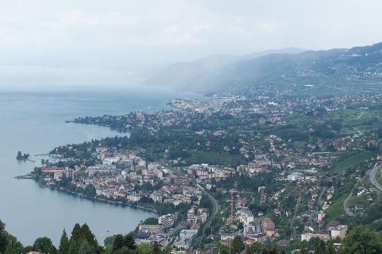 Vevey, سويسرا: Vevey panorama