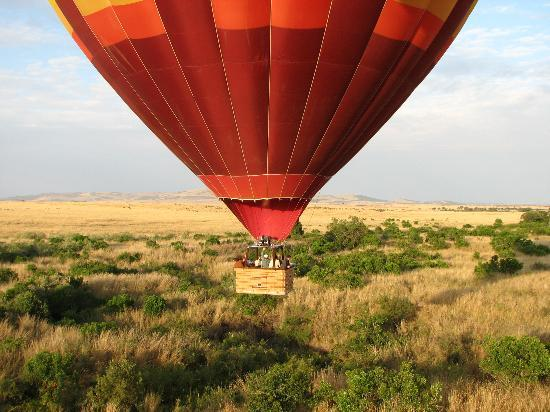 Masai Mara Nationalreservat, Kenia: Hot Air Ballooning