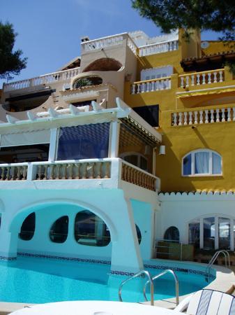 Hotel Cala Fornells: la gran tortuga