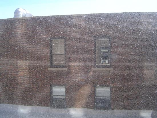 Finlen Hotel and Motor Inn: What a view!! Gotta love the brick....