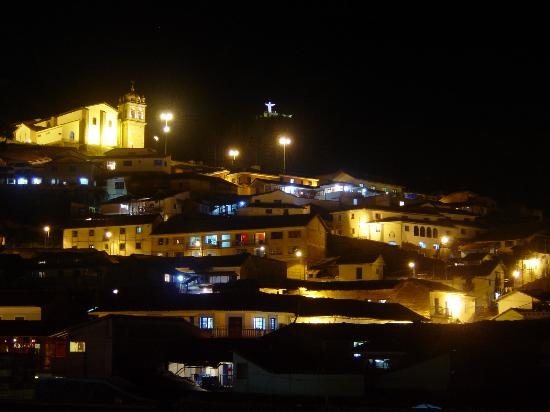 Hotel Costa Del Sol Ramada Cusco: View from the 4th floor restaurant