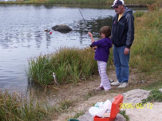 Black Hills National Forest: Fishing at Sylvan Lake