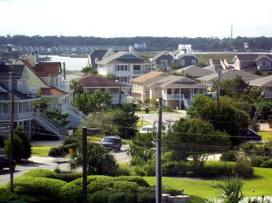 Holiday Inn Resort Wrightsville Beach: View from inland-side room.