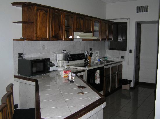 Apartotel Obelisco: Kitchen area of apartment