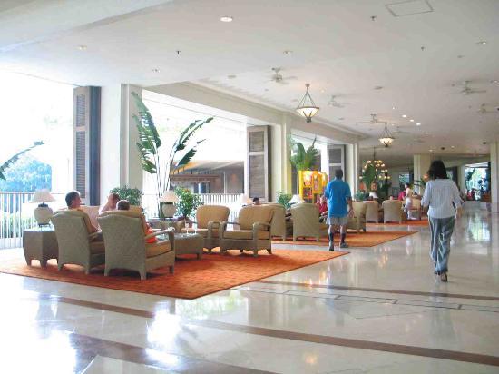 Shangri-La's Mactan Resort & Spa : lobby area