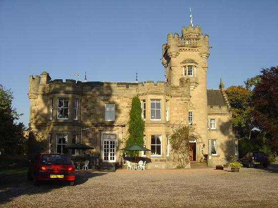 Mansfield Castle Hotel : Gorgeous October morning