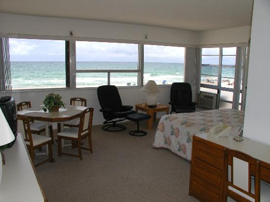 Lauderdale by the Sea, Floride : my room (room # 19)