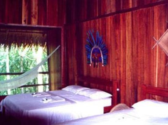 Juma Amazon Lodge: Inside the hut