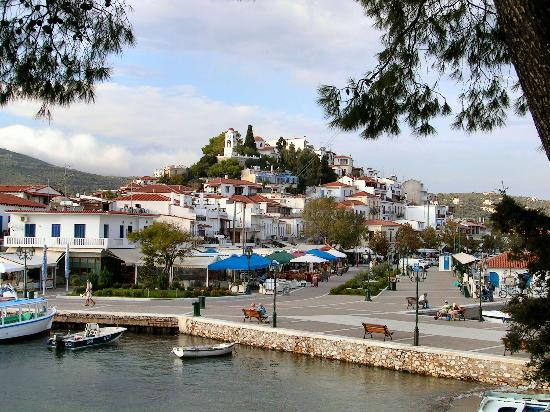 Skiathos town looking from bourtzi island picture of for Bourtzi hotel skiathos