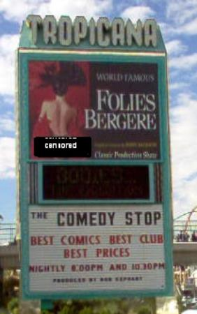 Folies Bergere: World Famous Sign