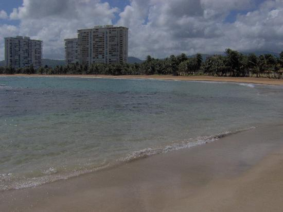 Playa Azul: View of condos from beach