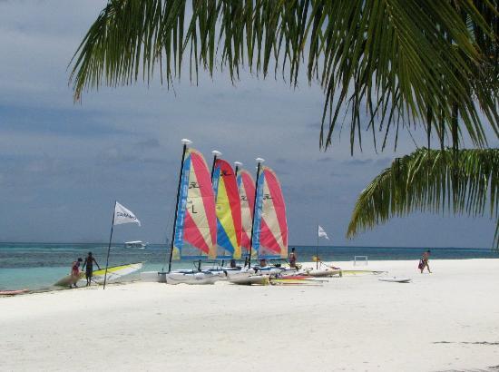 Club Med Kani. Wanna go sailing?