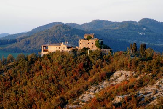 Pietralunga, Itália: Superb location in Umbria