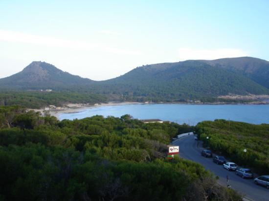 Hotel & Spa S'Entrador Playa: Cala Agulla - from room