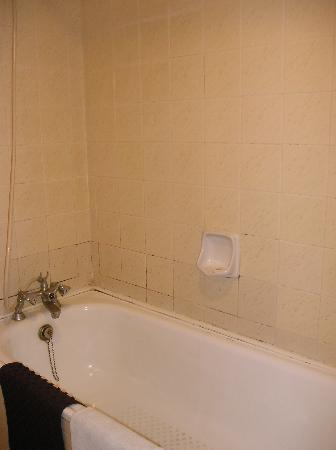 Hotel Grand Continental Kuala Lumpur : Dirty bathroom