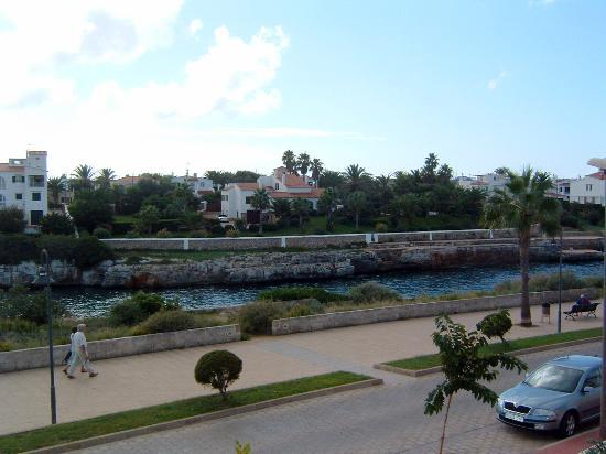 Port Ciutadella: View from 245
