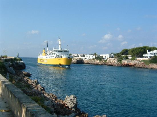 Port Ciutadella: View on Ciutadella Promenade