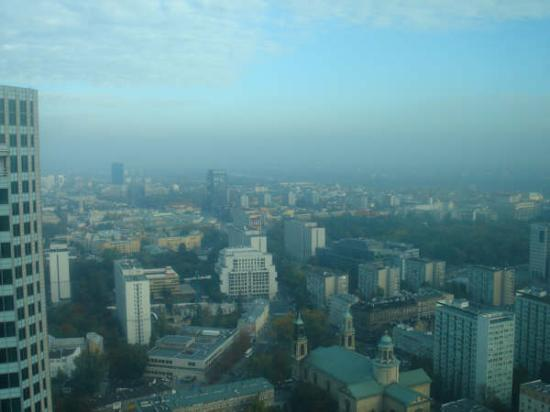 InterContinental Hotel Warsaw: view from my window!