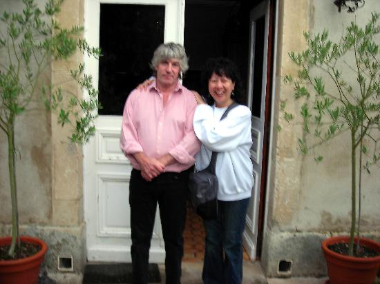 Les Fontaines : Andrew and me